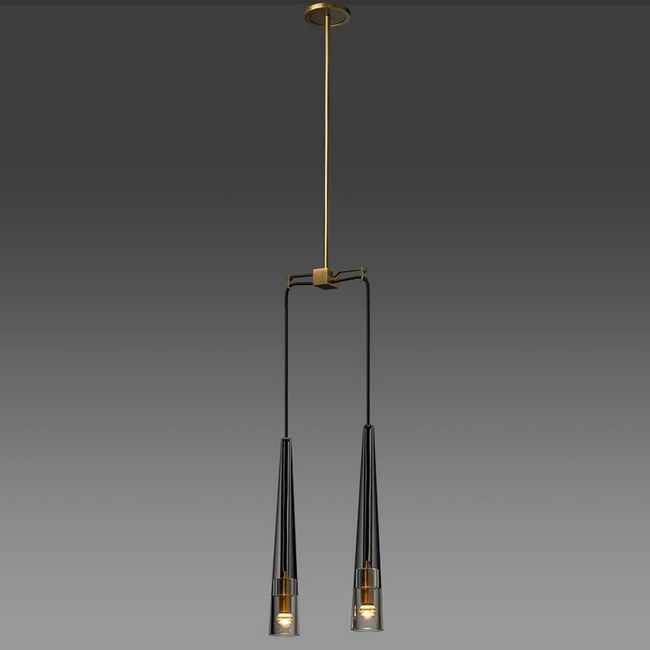 Apollinaire 2 Light Pendant Lighting 15006