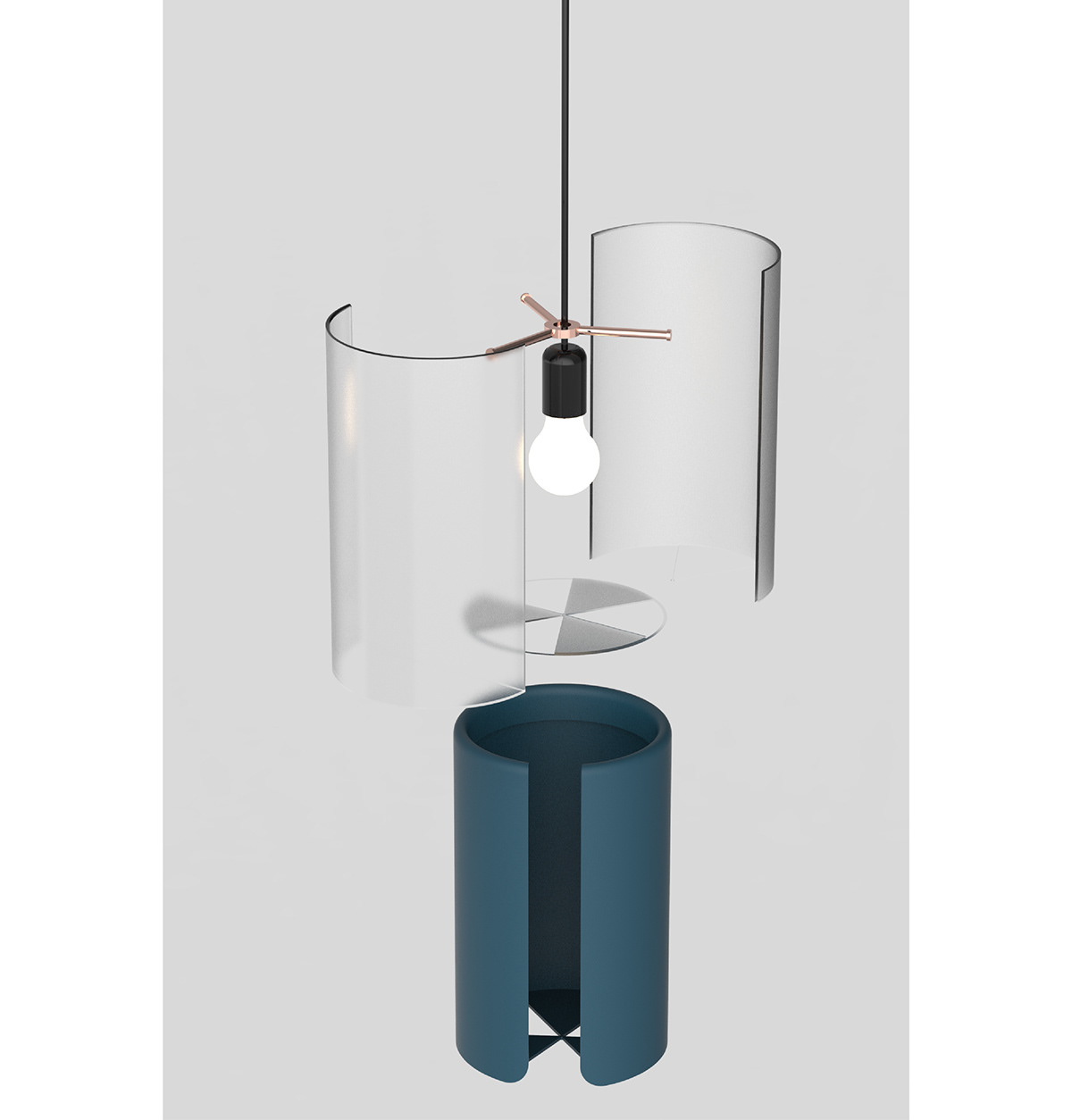 Sleeve Pendant Lighting 17171