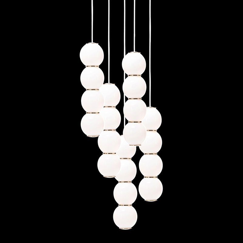 Pearls Chandalier 5 - BBBBB by Formagenda 18499