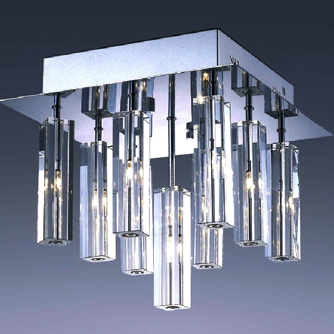 Top Crystal Recessed Lighting in Chrome Finish 8181