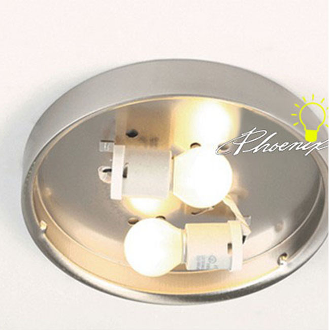 Modern Marble Glass Recessed Lighting in Matte Nickel Finish 897