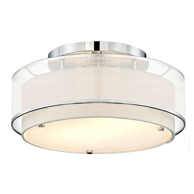 Modern 2 Layers of Gauze Recessed Lighting 9857