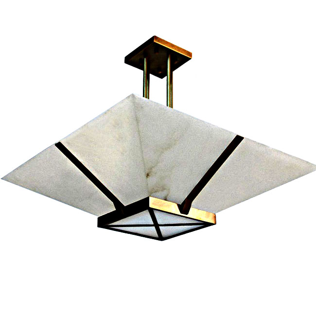 Antique Marble Recessed Lighting in Baked Finish 10313