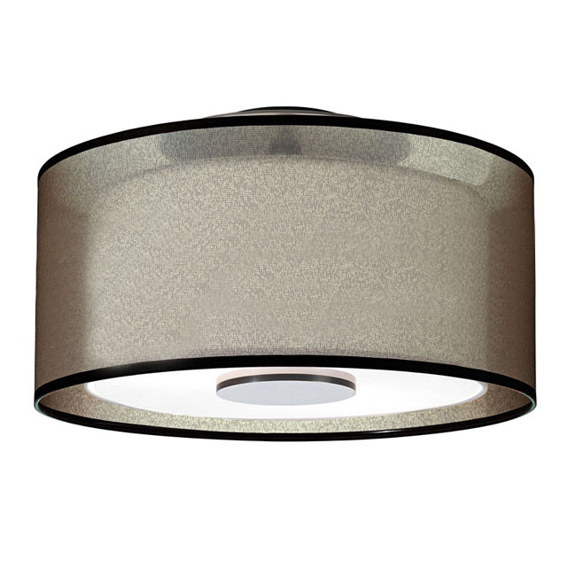 Post Modern Gauze and Fabric Shade Recessed Lighting 11203