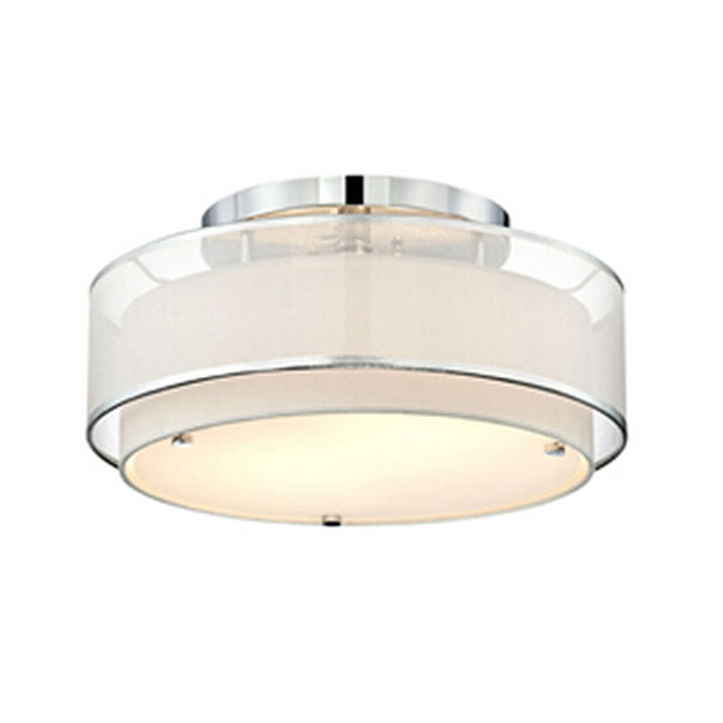 Post Modern Gauze and Flax Shade Recessed Lighting 11207