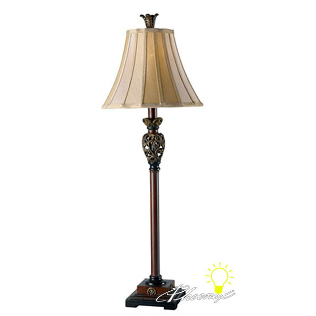 Antique Country Classic Table Lamp in Baking Finish 8597