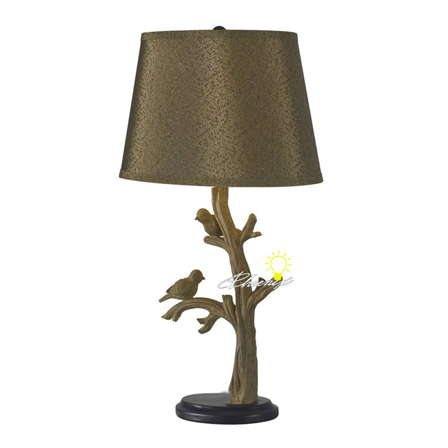 Modern Birds on Stick Table Lamps in Painted Finish 8630