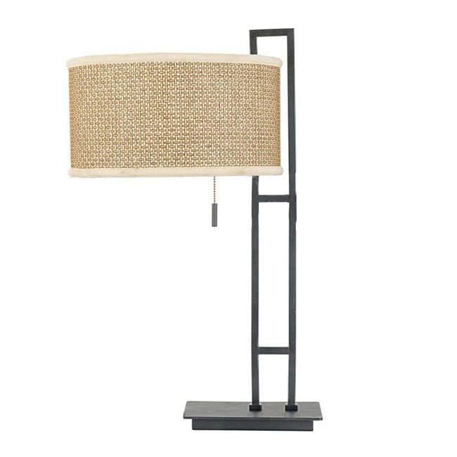Modern Iron Art and Fabric Table Lamp 9979