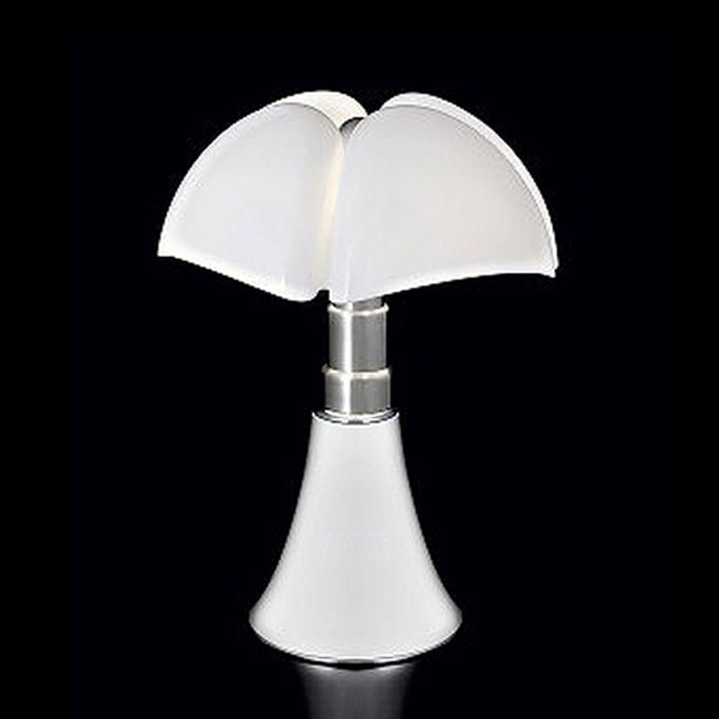 Modern Blown Matte Glass Shade Adjustable Height Table Lamp 1104