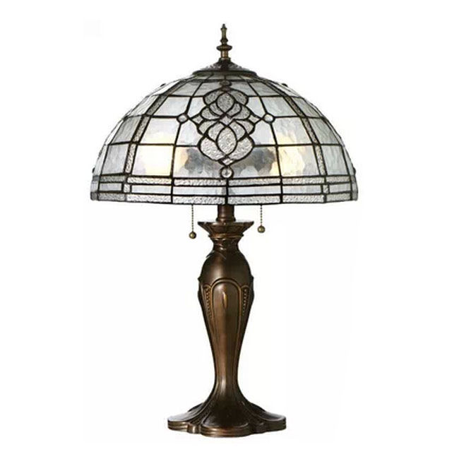 Fantiny Handmade Glass and Metal Table Lamp 11292