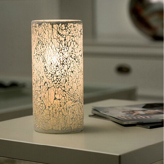 Modern Ice Glass Table Lamp 11639