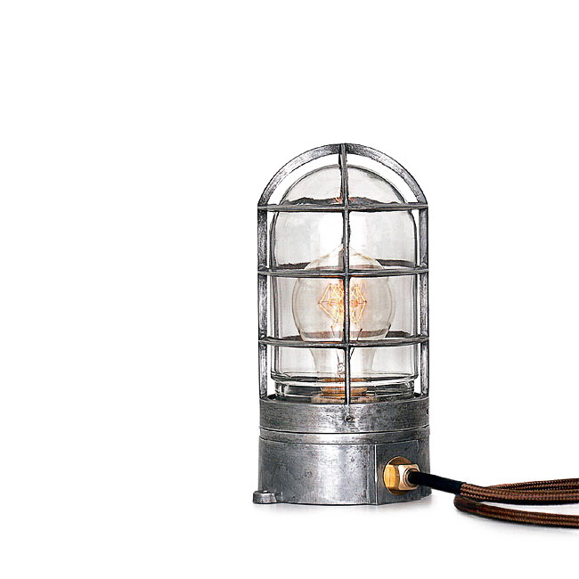 LOFT Handmade Iron and Glass Shade Table Lamp 10982