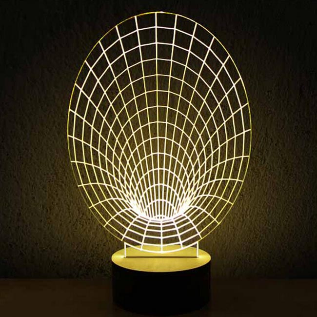Modern Acrylic 3D LED Table Lamp 11971