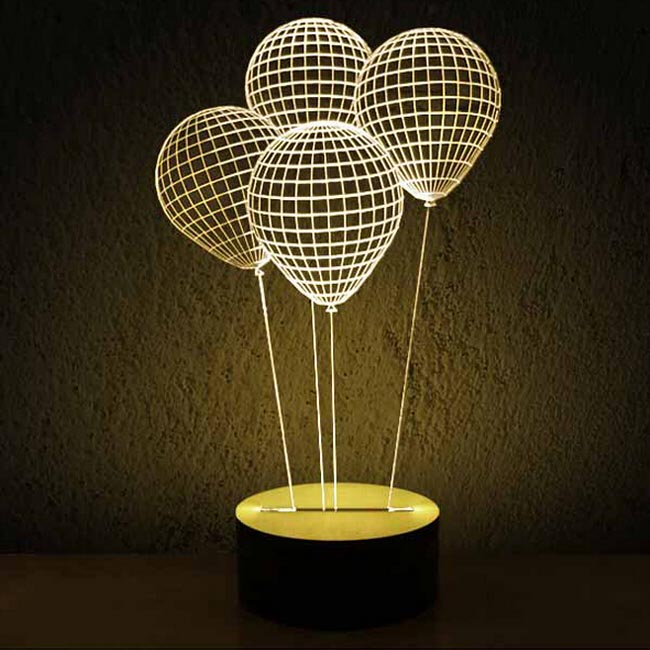 Modern Acrylic 3D LED Table Lamp 11972