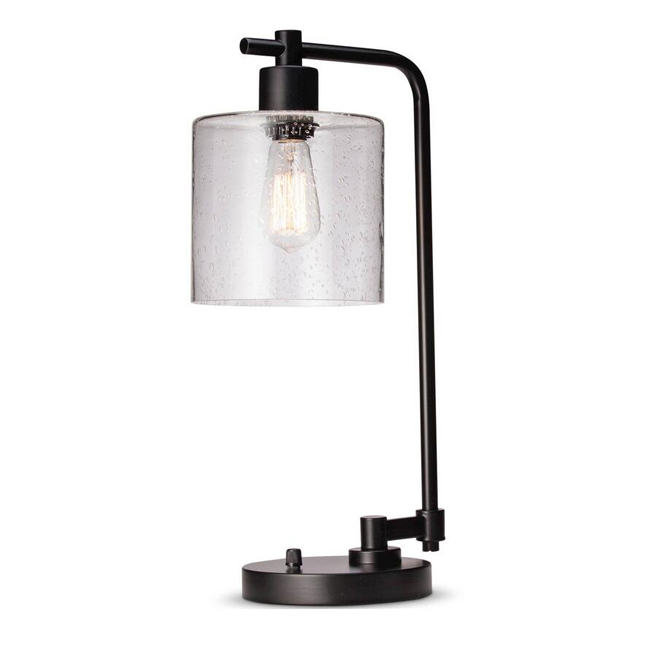 Seeded Glass Edison Table Lamp 14137