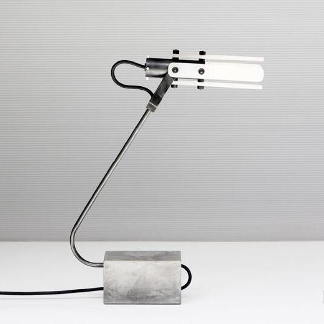 Alar Table Lamp w/Concrete Base 14264