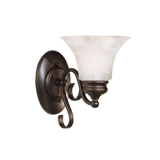 Antique Marble shape Wall Sconce in Painted Finish 8619