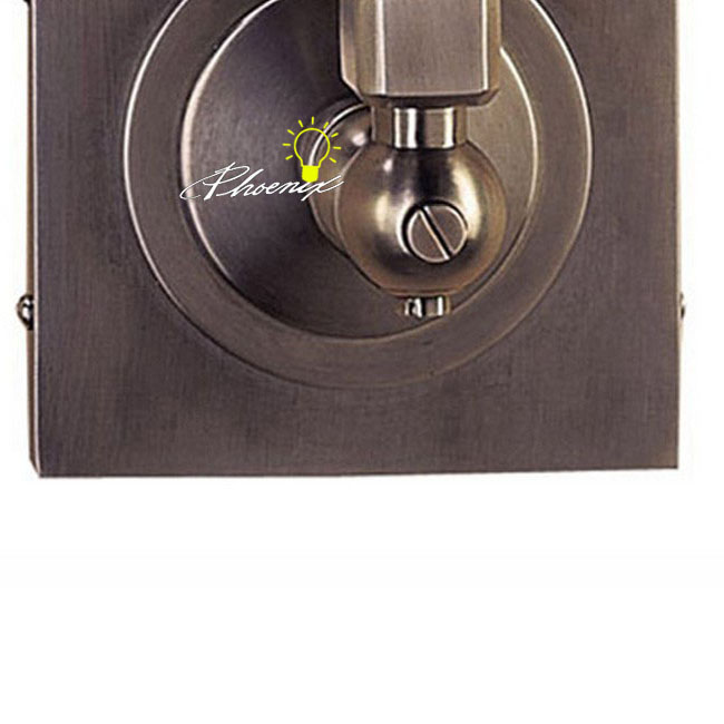 Antique Industiral Fabric and Copper Wall Sconce 8767