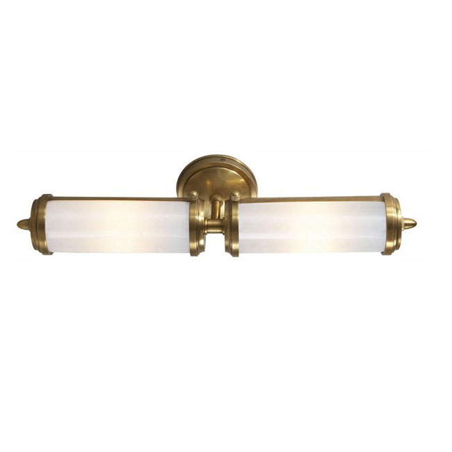 Antique Double lights PPC and Copper Wall Sconce 8775