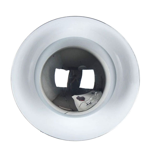 Modern Baked Metal Round Wall Sconce 9525