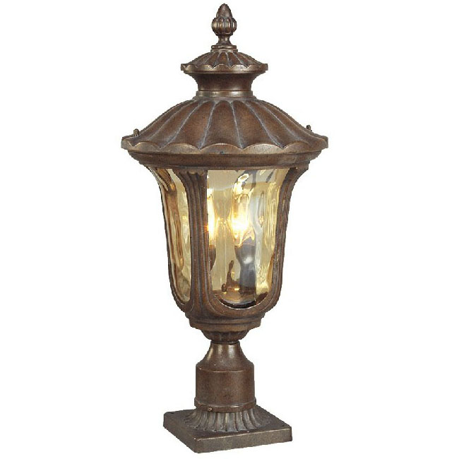 Outdoor Water Proofed Water Glass Wall Sconce 9556