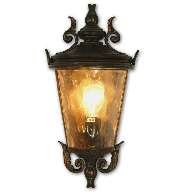 Outdoor Water Glass Wall Sconce 9566