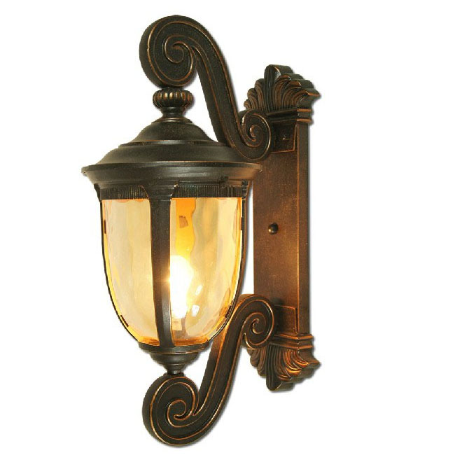 Outdoor LP101 Water Glass Wall Sconce 9570