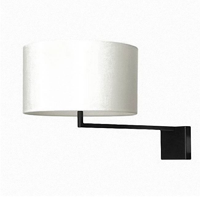 Modern Simple Bed Head Fabric Wall Sconce 9594