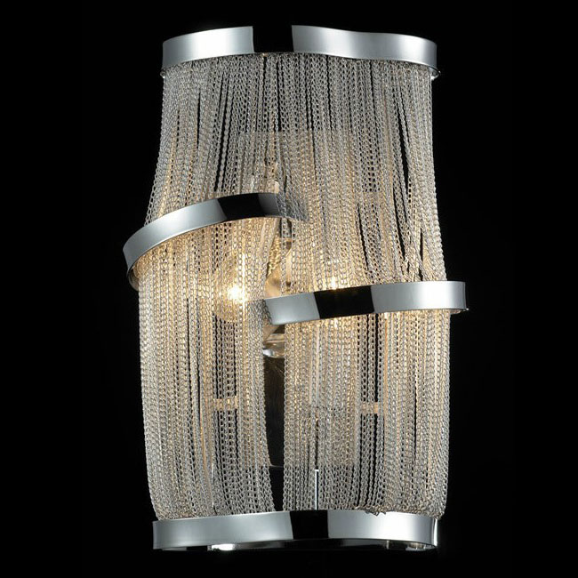 Modern Metal Chain Wall Sconce 9995