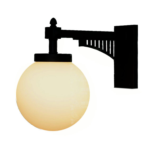 LOFT Iron and Glass Ball Wall Sconce 10299