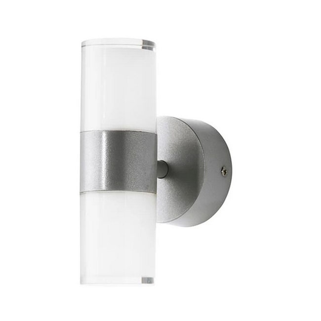 Modern LED Metal and Glass Shade Wall Sconce in Matte Finish 105