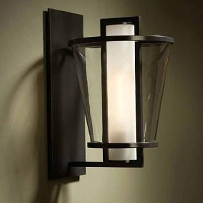 PHX Country 2 Layers of Glass Shade Wall Sconce 10736