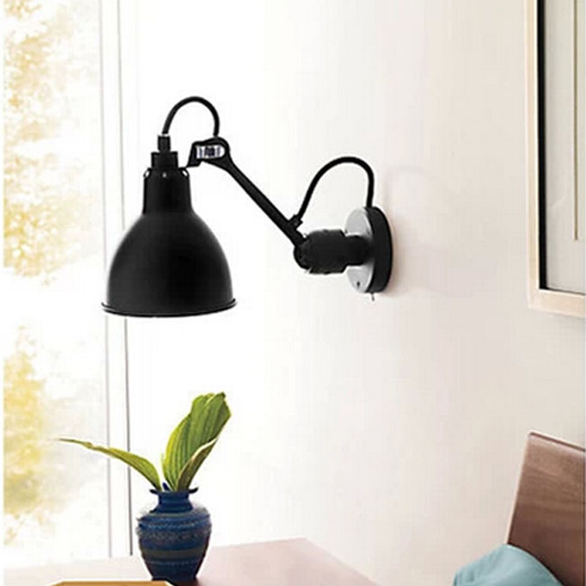 North Iron Industrial Adjustable Head Wall Sconce 10885