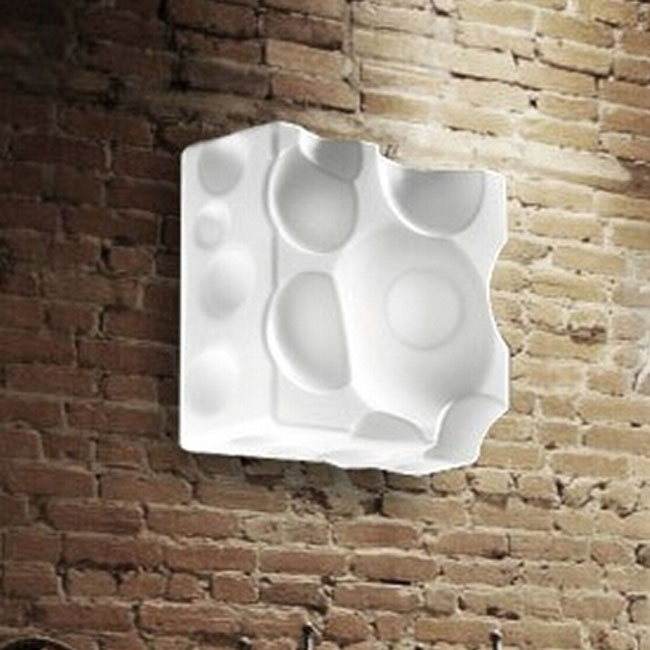 Modern Glass Cheese Wall Sconce 11033