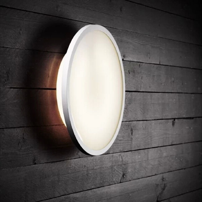 Modern Metel And PVC Disc Wall Sconce 11263