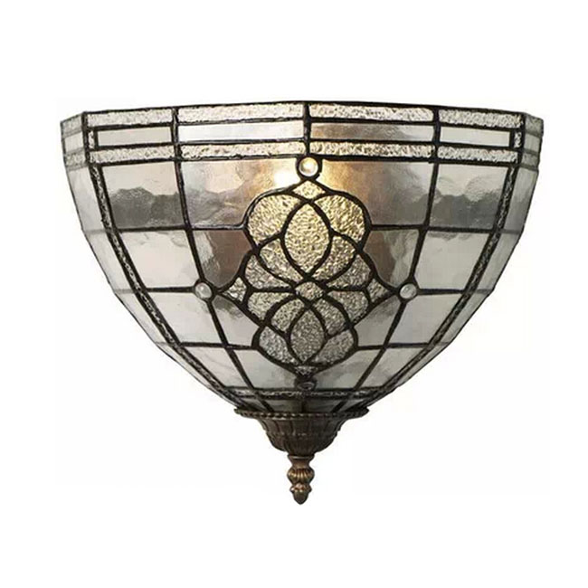 Fantiny Handmade Glass and Metal Wall Sconce 11291