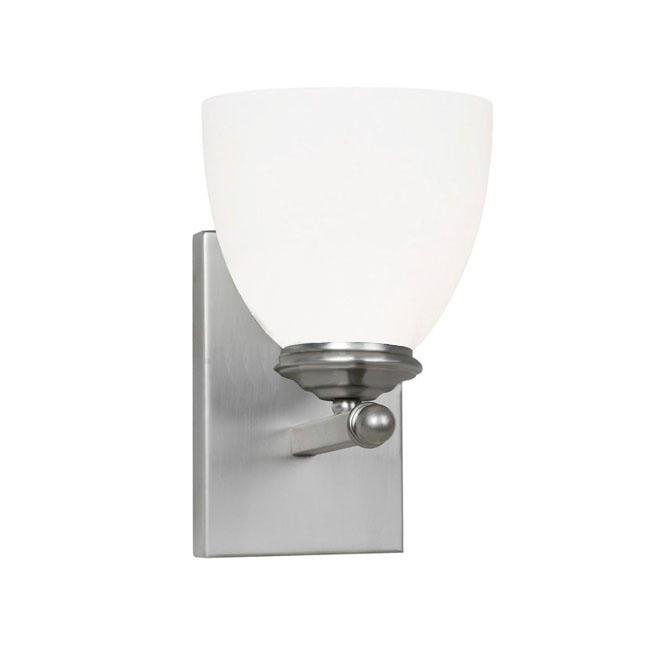 PHX Steel Brushed Wall Sconce 11434