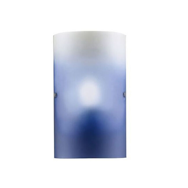 Modern alternative Sea Blue Glass Shade Wall Sconce 11651