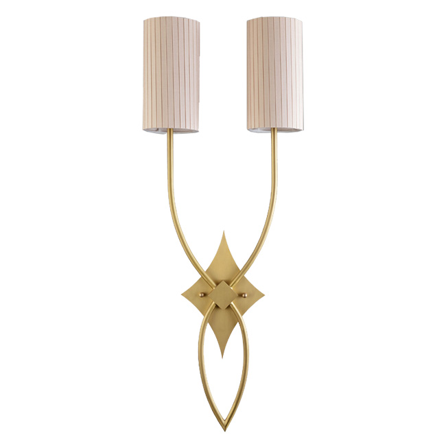 Country Complete Copper and Flax Wall Sconce 11703