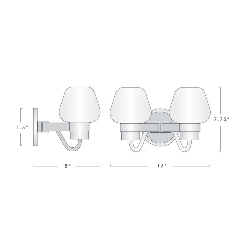 MONTALEMBERT DOUBLE SCONCE 18032